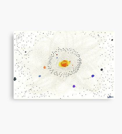 Solar System: Home of Earth Canvas Print