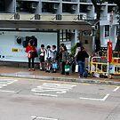 Bus Stop, Hong Kong by Maggie Hegarty