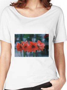 Low Light Amaryllis Women's Relaxed Fit T-Shirt