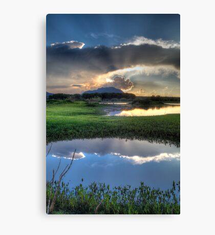 Pond to Pond Canvas Print