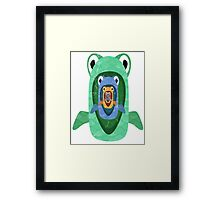 There's always a bigger fish... Framed Print