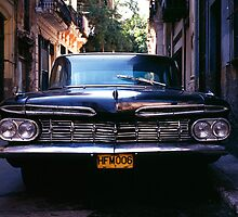 Chevrolet Bel Air, Havana. by johnboucher