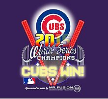 CUBS WIN! 2015 World Series: Fade from Existence Photographic Print