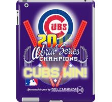 CUBS WIN! 2015 World Series: Fade from Existence iPad Case/Skin
