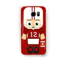 American Football Red and White Samsung Galaxy Case/Skin
