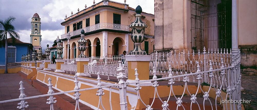 Plaza Mayor, Trinidad Cuba. by johnboucher
