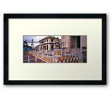 Plaza Mayor, Trinidad Cuba. Framed Print