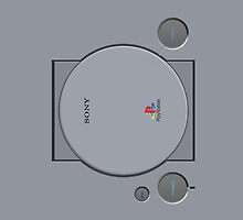 Playstation 1 by eurodak