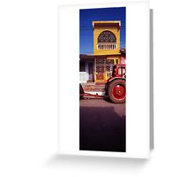 Yellow House Greeting Card