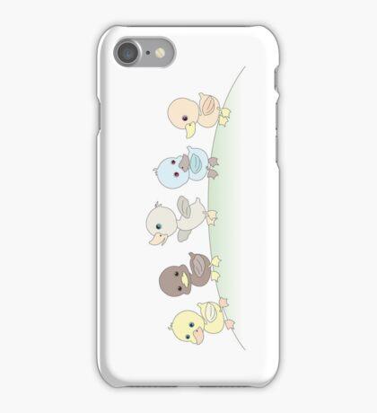 Five little ducks iPhone Case/Skin