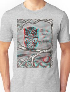 Dream Owl (3D) Unisex T-Shirt
