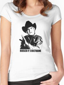 The Dukes Of Hazzard Rosco P. Coltrane T-shirt Women's Fitted Scoop T-Shirt