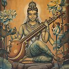 Sarasvati by Vrindavan Das