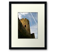 Turret, Conwy Castle, Wales. Framed Print