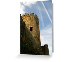 Turret, Conwy Castle, Wales. Greeting Card