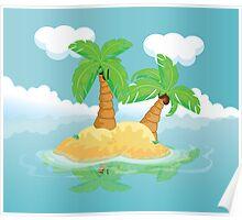 Desert Island Poster