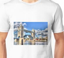 Tower Bridge and the Waverley Unisex T-Shirt