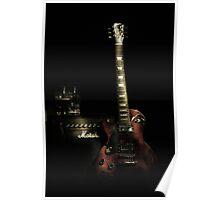 Guitar and Amp  Poster