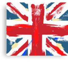 Worn Union Jack British Flag  Canvas Print
