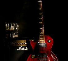 Guitar And Amp  by Moonlake