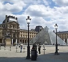 The Louvre Pyramid (Pyramide du Louvre) by AnnDixon