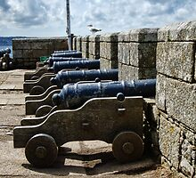 Defending The Mount ~ St Michael's Mount by Susie Peek