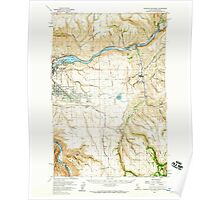 USGS Topo Map Indiana ID Lewiston Orchards 239164 1958 62500 Poster