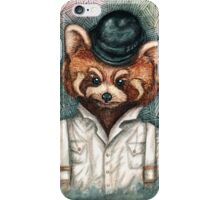 A Clockwork Red Panda iPhone Case/Skin