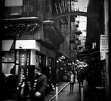 Melbourne Laneways by Fiona Lockhart