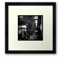 Melbourne Laneways Framed Print