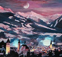 The Kitzbuehel Moon by artshop77
