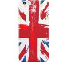 Worn Union Jack British Flag  iPhone Case/Skin