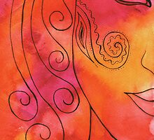 Mehndi Woman by Ria  Rademeyer
