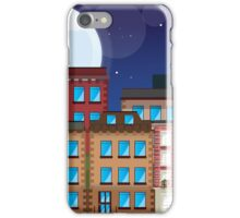 Brownstone Buildings iPhone Case/Skin