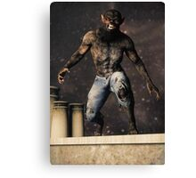 The Curse of Lycanthropy Canvas Print
