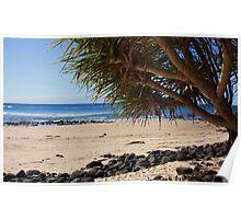 fingal beach ... Poster