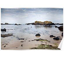 Ballantoy Beach, Northern Ireland Poster