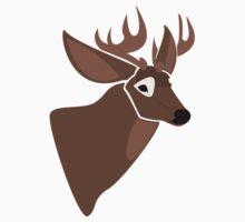 White tailed deer Baby Tee