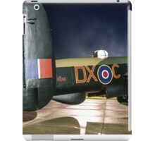 Avro Lancaster B.VII NX611 G-ASXX Floodlit iPad Case/Skin