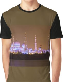 The Sheikh Zayed Grand Mosque, abu dhabi Graphic T-Shirt