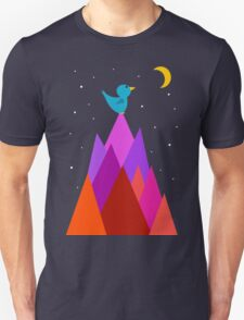 The Moon is my friend Unisex T-Shirt