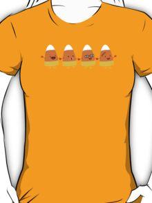 Cute candy corn Halloween costumes T-Shirt