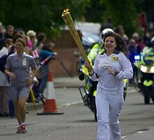 Olympic Torch, Thatcham by James Taylor