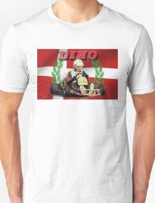 DINO KART Vintage pic Harm Schuurman  Unisex T-Shirt