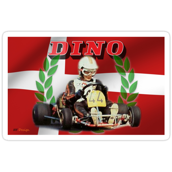 DINO KART Vintage pic Harm Schuurman  by harrisonformula