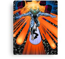 The true Silver Surfer Canvas Print