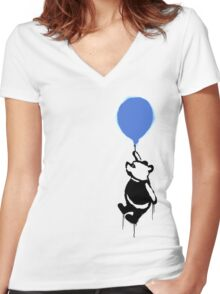 A Clever Disguise Women's Fitted V-Neck T-Shirt