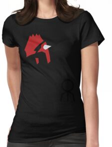 Groudon! Womens Fitted T-Shirt