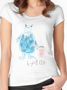 Sully by Boo Women's Fitted Scoop T-Shirt