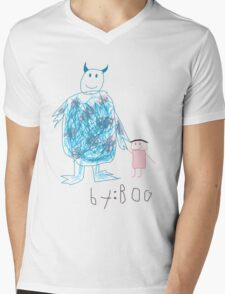 Sully by Boo Mens V-Neck T-Shirt